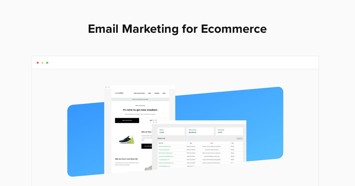 new style 7a647 f360f Ecommerce Campaigns - MailerLite