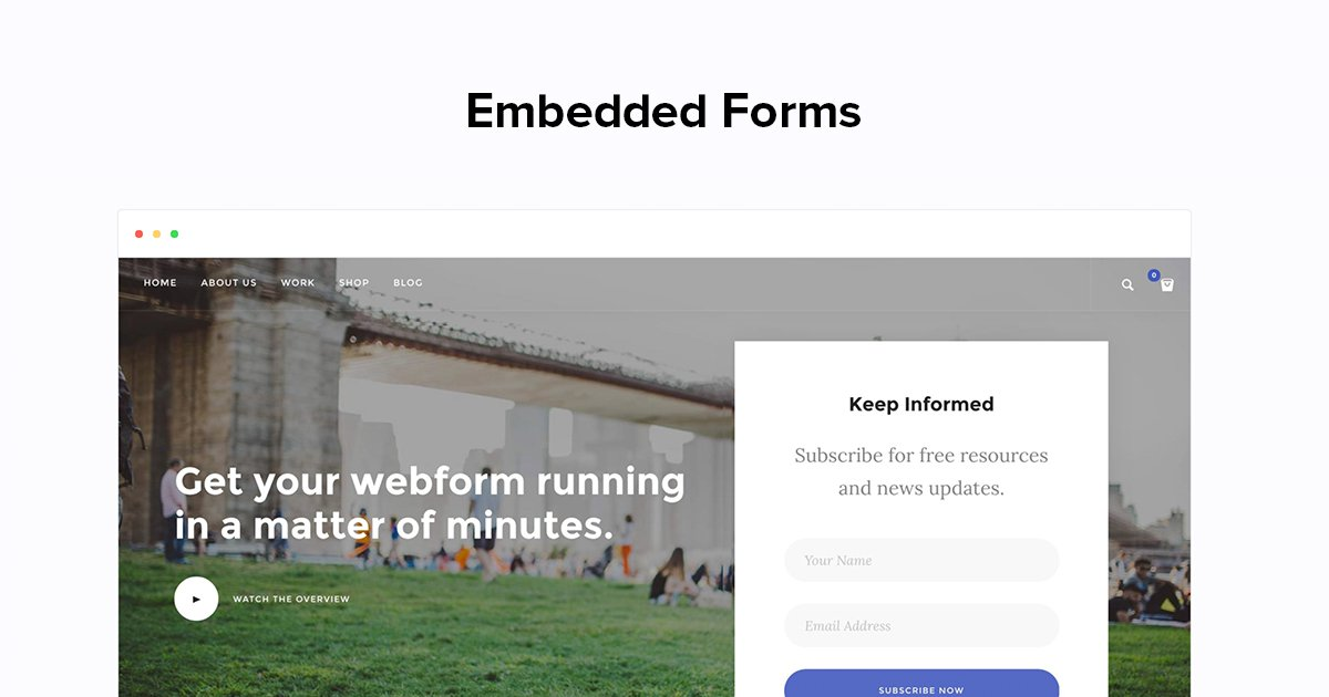 Embed Sign Up Form to your Website - MailerLite