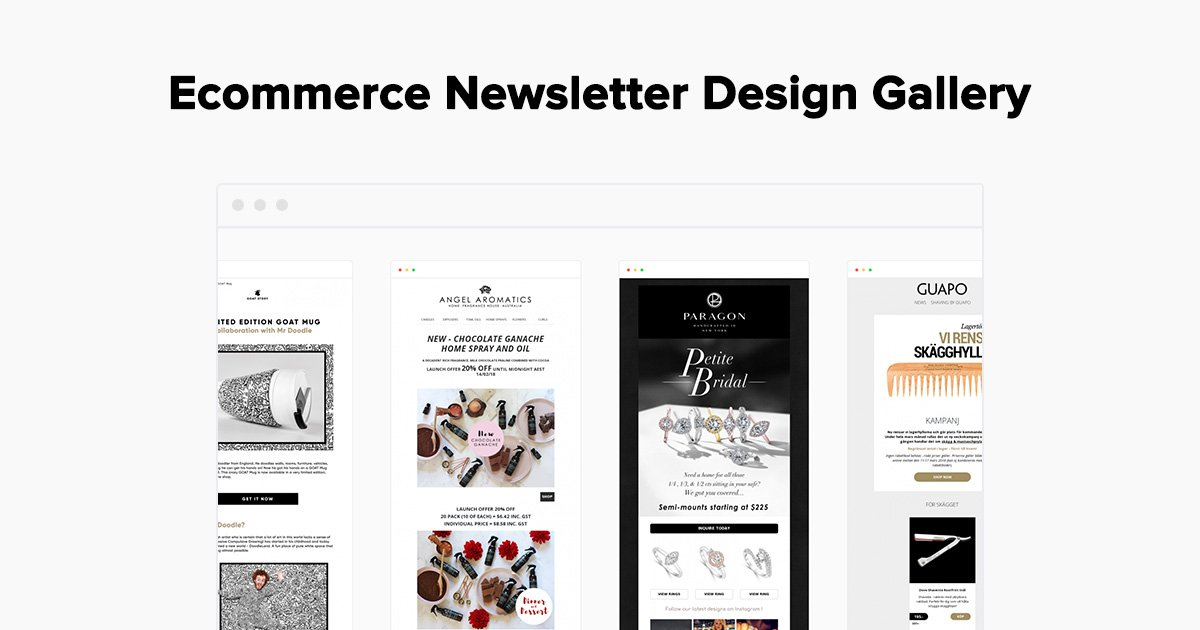Ecommerce Newsletter Design Examples Gallery Mailerlite