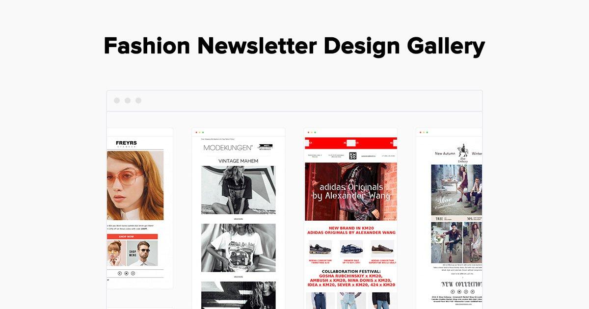 Fashion Newsletter Examples - Gallery - MailerLite