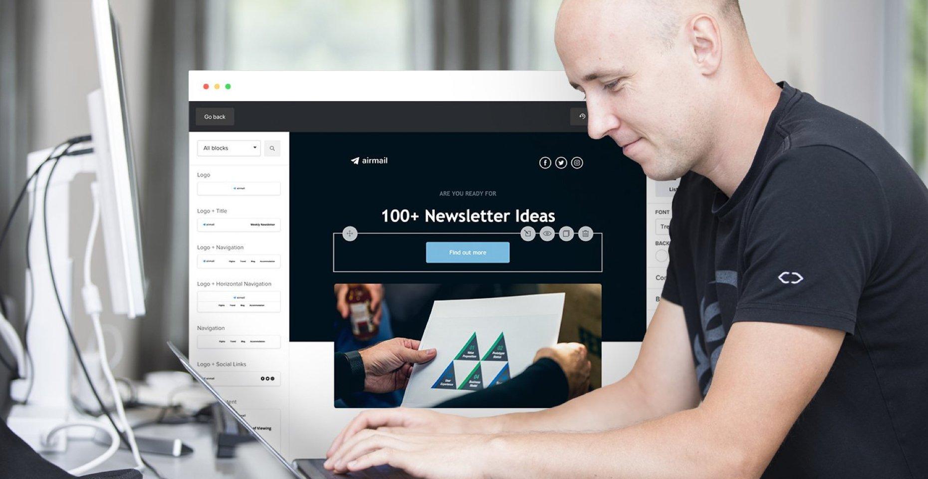 Más de 100 ideas de contenido de boletines para su próximo correo electrónico