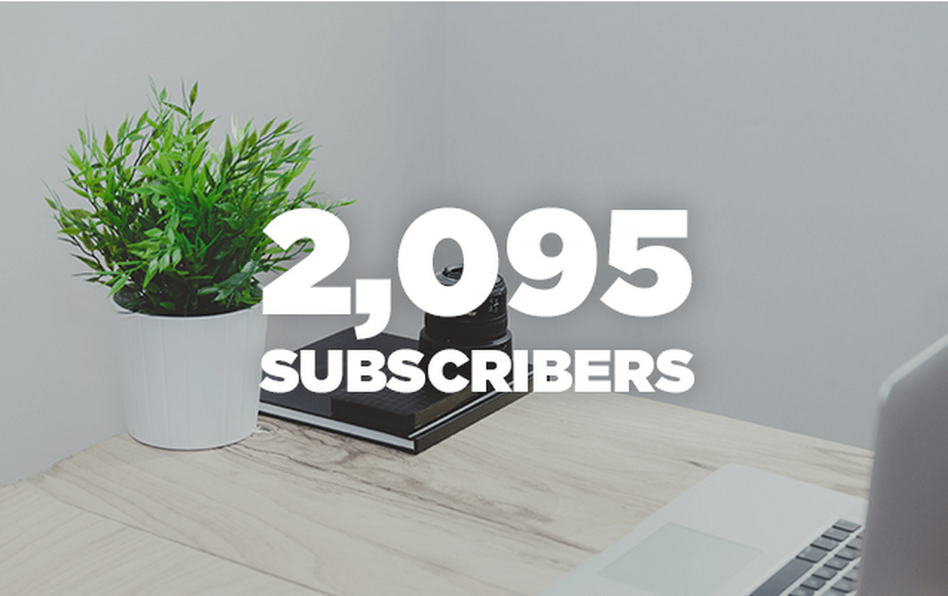4 Tactics I've Used to Get 2,095 Email Subscribers From Scratch