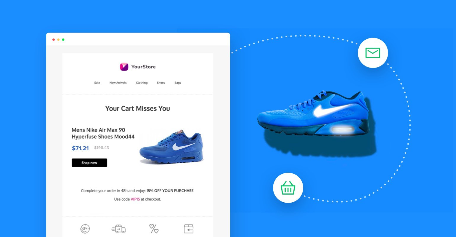Abandoned cart emails for Shopify and WooCommerce are live!