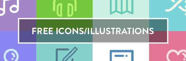 free icons illustrations newsletter resources