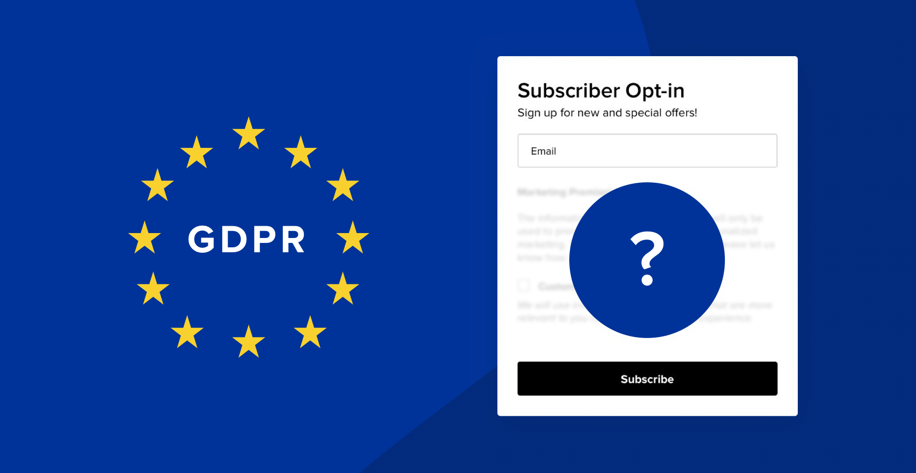 How to create effective opt-in forms that still work under GDPR