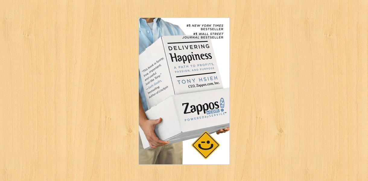 delivering happiness book by tony hsieh