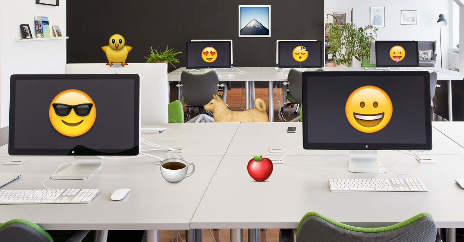 Express yourself with Emoji!