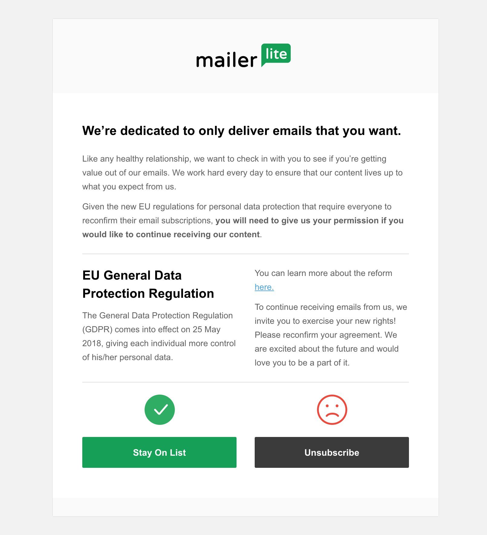 How Gdpr Compliance Can Improve Your Email Marketing Mailerlite
