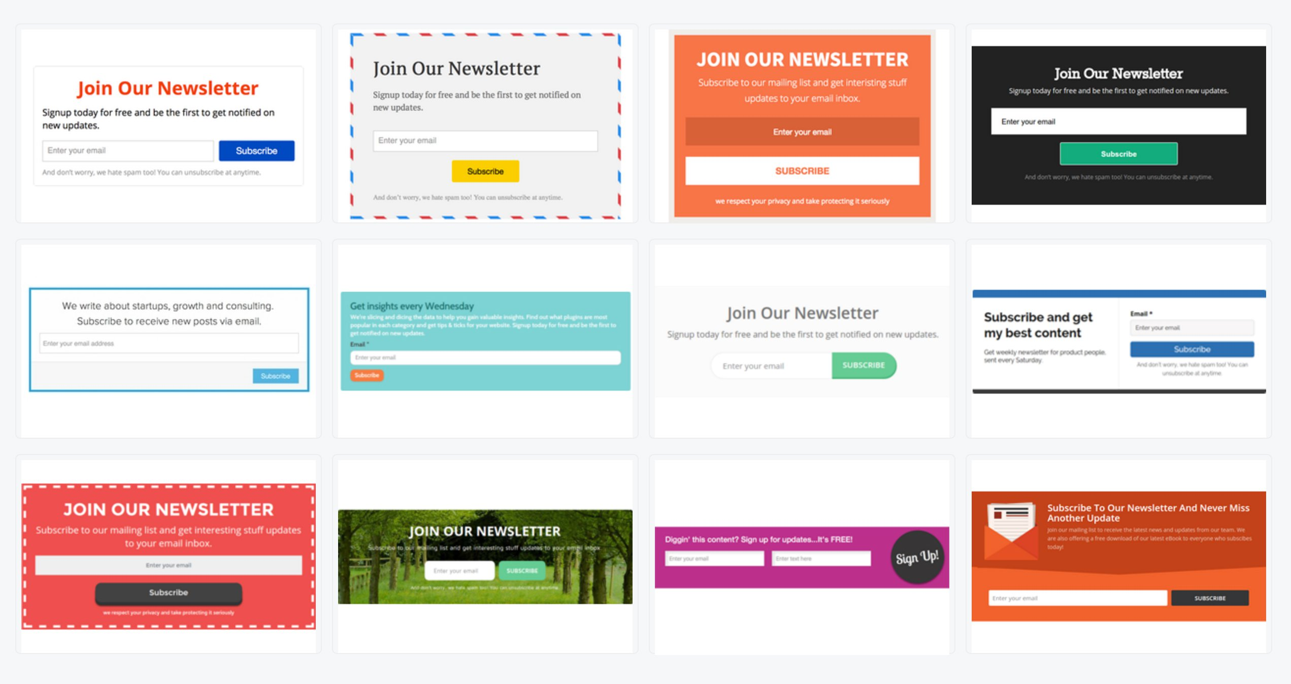 mailmunch themes mailerlite integration
