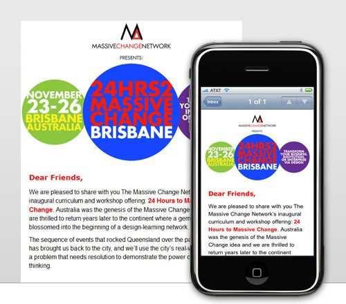 mobile friendly emails example - MailerLite