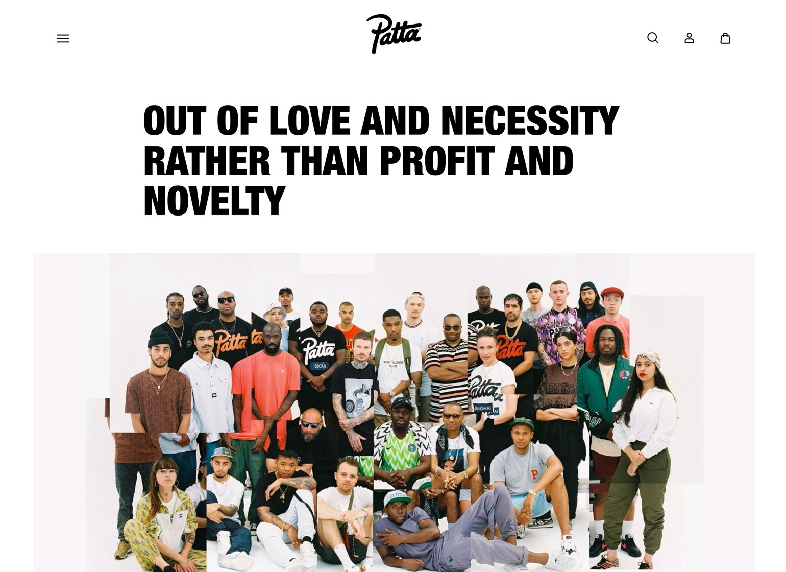 Patta website example