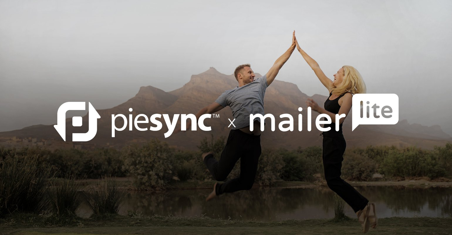 MailerLite integrates with PieSync