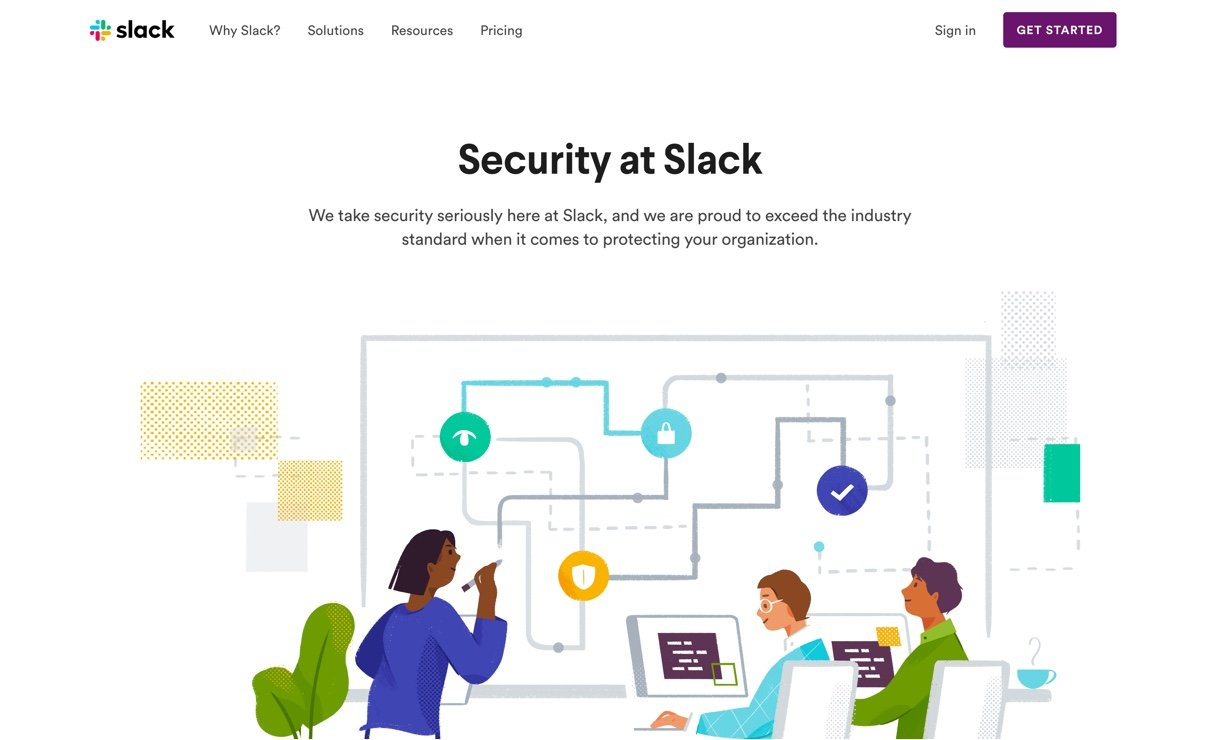 Slack website screenshot