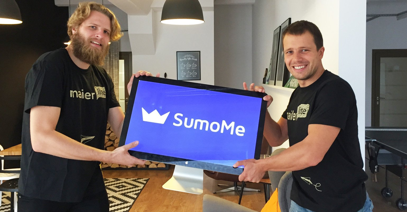 MailerLite integrates with SumoMe