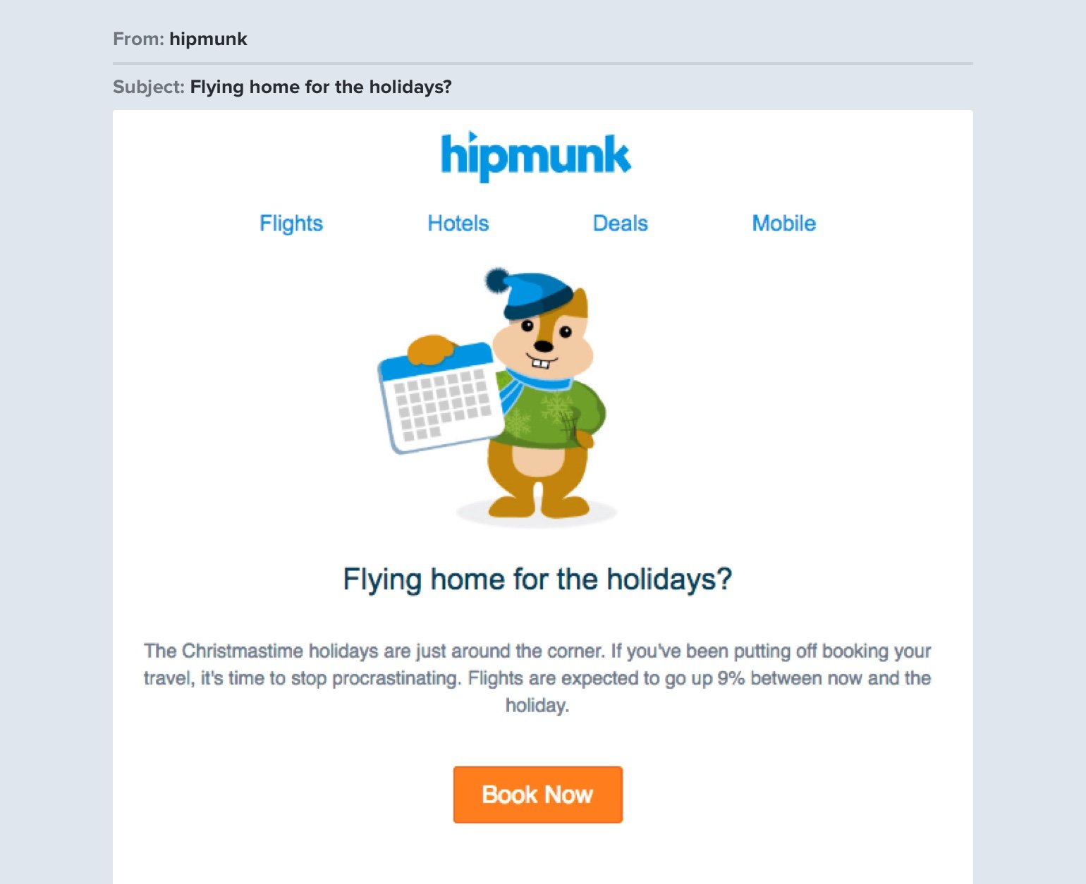 Travel email marketing: selling sunsets, not flight tickets
