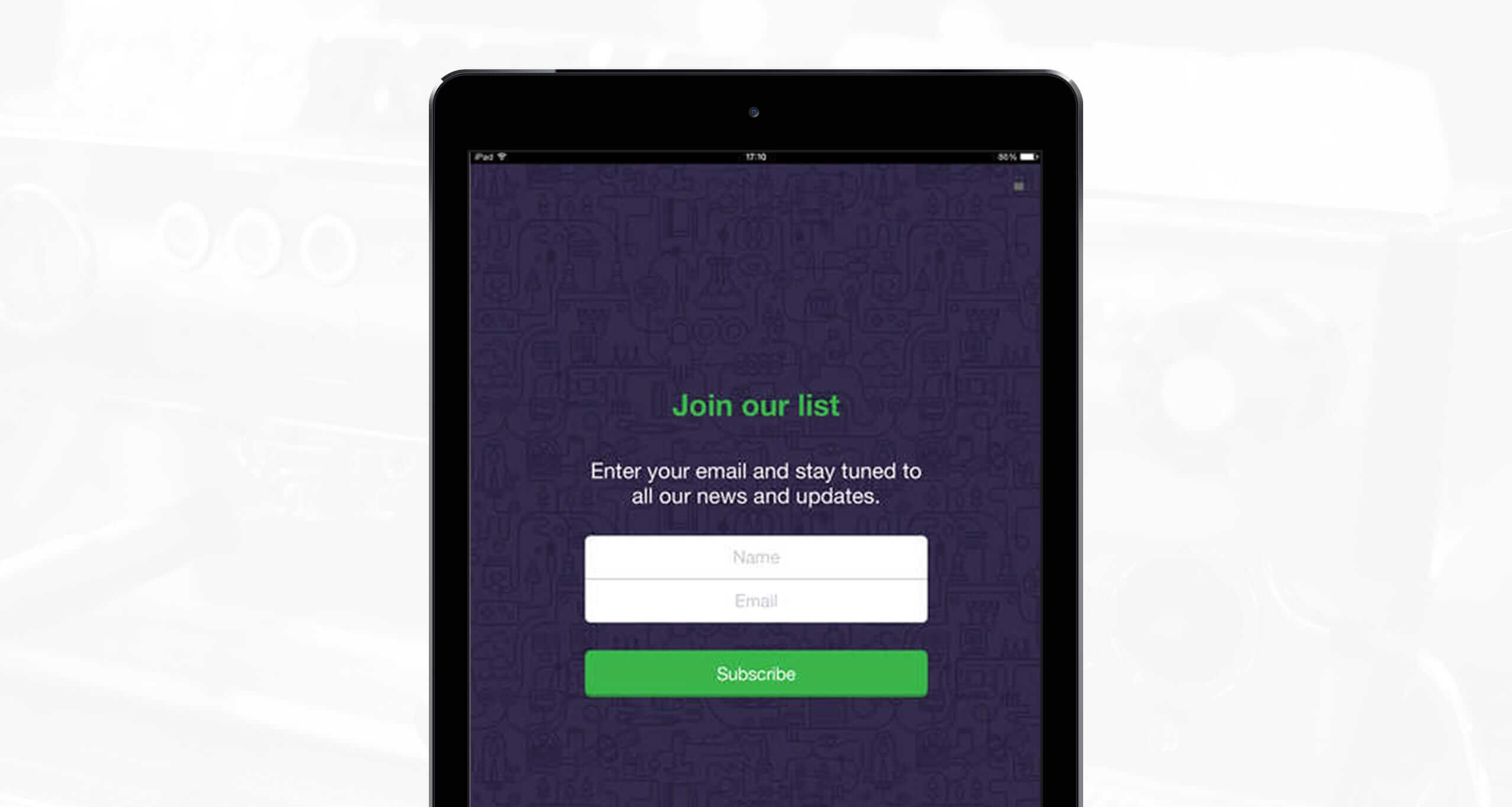 forms app for ipad collect your leads offline mailerlite