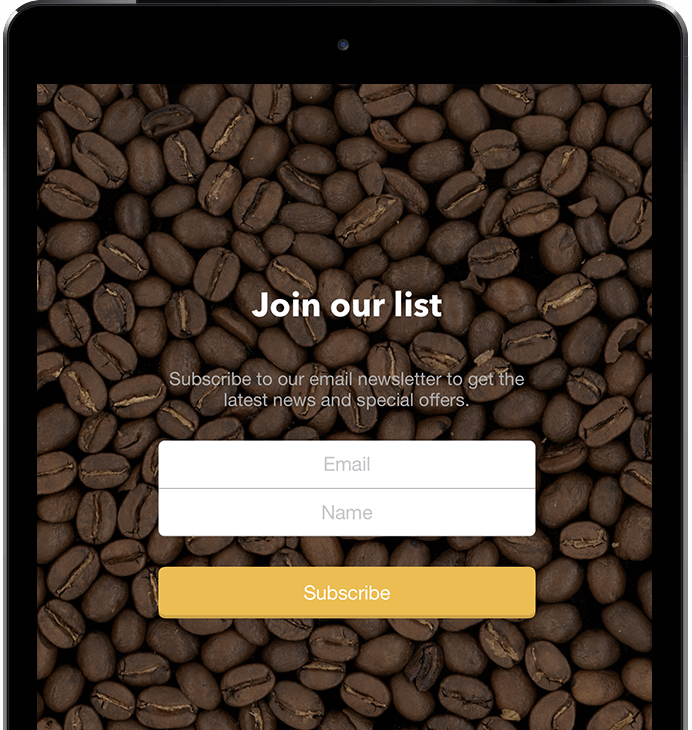 Forms App for iPad - MailerLite